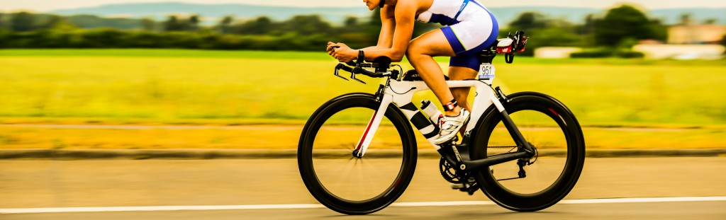 Bicycle Race Triathlon
